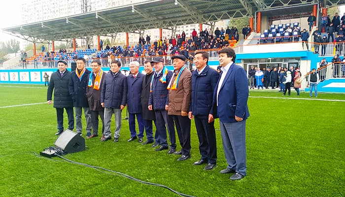 Jas Qyran Soccer Center for Children and Young People and Sputnik City Stadium have been Opened in Almaty (20.10.2018)