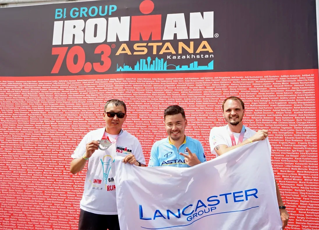 Lancaster Group team worthily performed at Ironman 70.3 Astana 2019