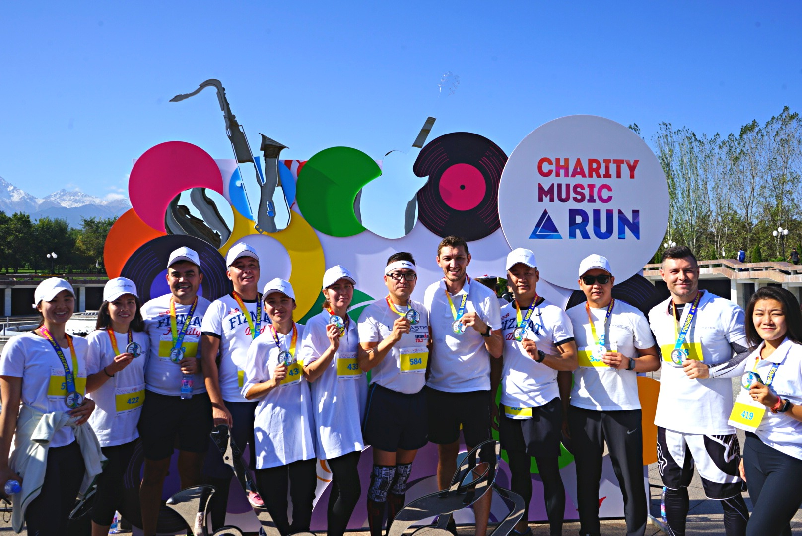 "Lancaster Group team took part in the annual charity music race ""NURBANK CHARITY MUSIC RUN 2019"""